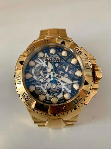 Relógio Invicta Dourado Modelo 15979 - Original