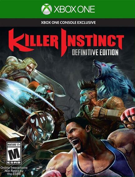 Killer Instinct Xbox One - 25 Dígitos (envio Já)
