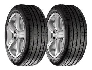 Paquete 2 Llantas 255/40r18 Pirelli P7 Cinturatorunf 95y Msi