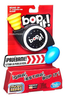 Bop It Micro Hasbro Original Scarlet Kids Hasbro Gaming
