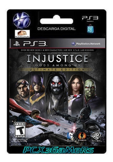 Ps3 Juego Injustice Gods Among Us Pcx3gamers