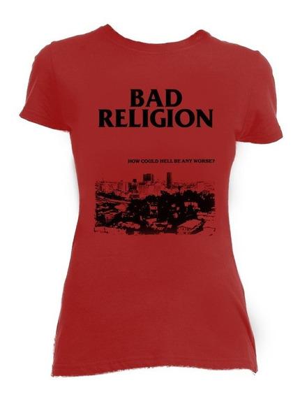 Bad Religion How Could.. Playera / Blusa Punk Nofx Rancid Dr