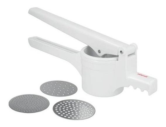 Amassador Espremedor De Batata E Legumes Metaltex Pressy