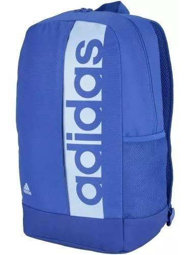Mochila adidas Linear Azul Original (promoção)