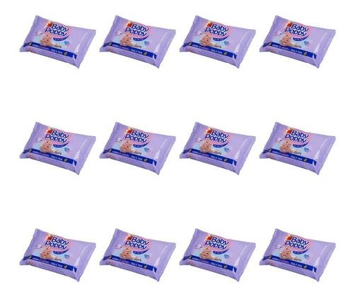 Opus Baby Poppy Premium Toalhas Umedecidas C/60 (kit C/12)