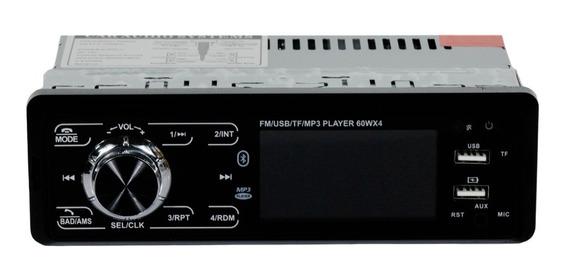 Som Automotivo Carro Mp3 Player Usb Fm Visor Lcd Bluetooth X