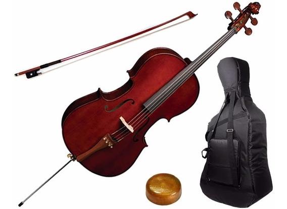 Violoncelo Eagle Ce200 4/4 Cello Profissional Promoção!