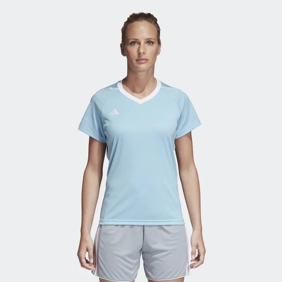 adidas Remera Camiseta De Fútbol Tiro 17 Mujer Bs4228