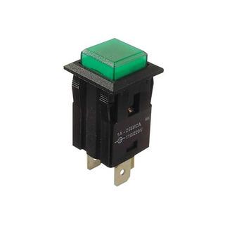 Chave Margirius   31123   3 Term. X Push Button - Verde