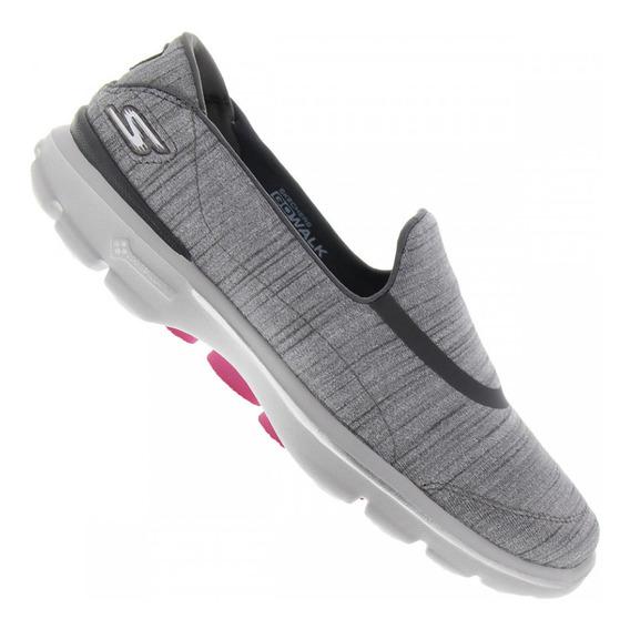 Tênis Skechers Go Walk 3 Feminino Adorn - Feminino