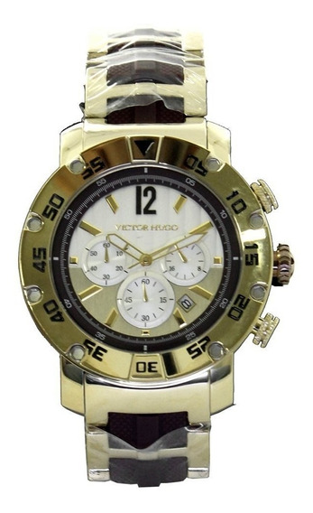 Relógio Victor Hugo 10093gsg/01m - Dourado Pálido