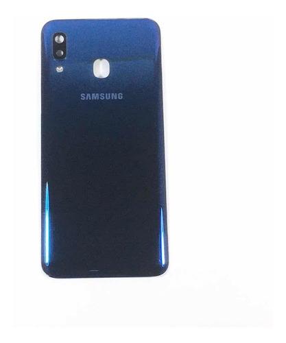 Tapa Trasera Back Cover Samsung Galaxy A20 A205g Azul