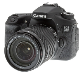 Câmera Eos 70d Canon