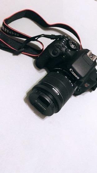 Canon Eos Rebel T6i Usada