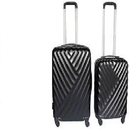 Set Kit 2 Maletas Rigidas 4 Ruedas Viaje Vacaciones