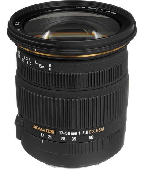 Lente Sigma 17-50mm F/2.8 Dc Ex Os Hsm Autofoco Canon