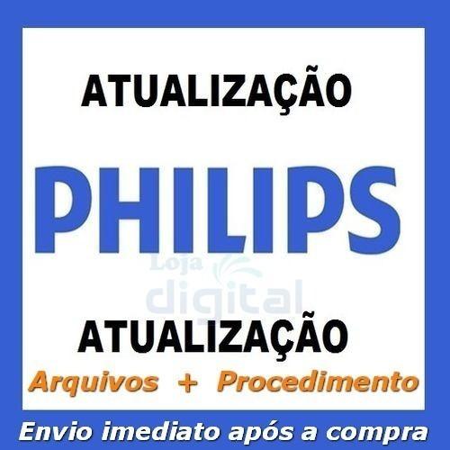 Atualização Software Firmware Pkg Philips Consulte O Modelo