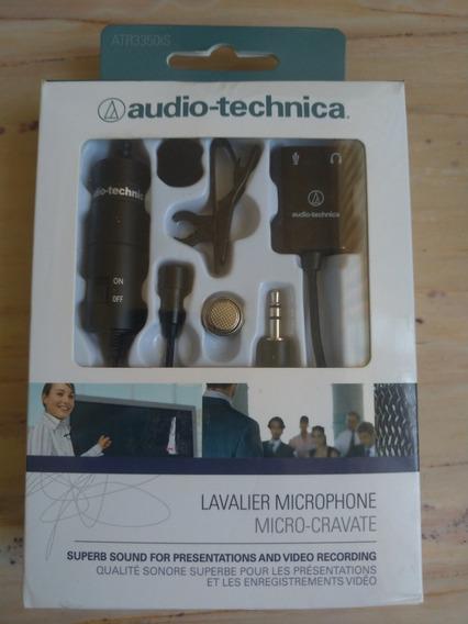 Microfone De Lapela, Audio-technica, Atr3350is.