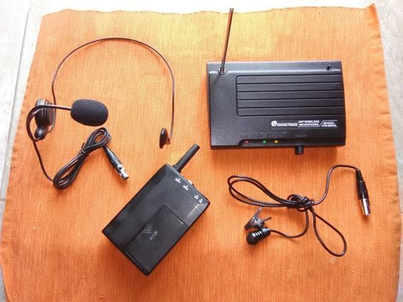 Microfono Inalambrico Cintillo Y Balita Uhf Soundtrack
