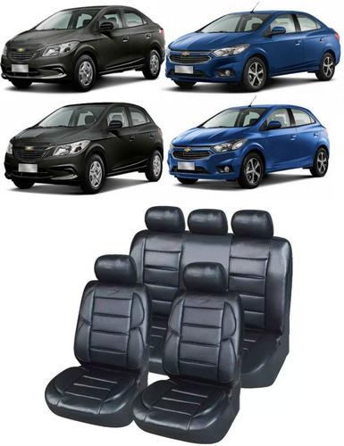 Funda Cubre Asiento Auto Cuerina Premium Prisma Onix Joy Ltz