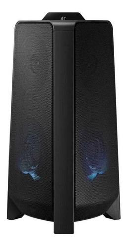 Imagen 1 de 5 de Parlante Samsung Giga Party Audio MX-T40 con bluetooth negra 100V-240V