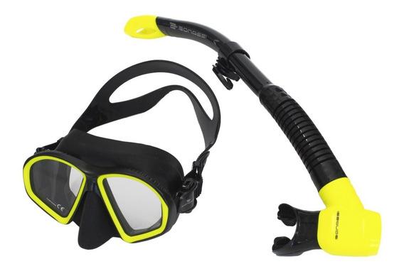 Combo Athena Bonassi Para Snorkeling Y Buceo Envío Gratis!!!