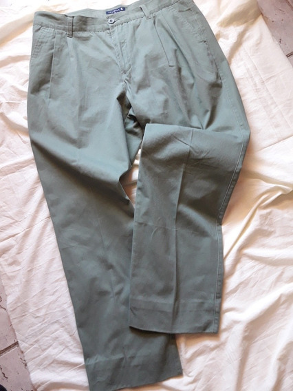 Pantalon Casual New Port Talle 46 Gabardina