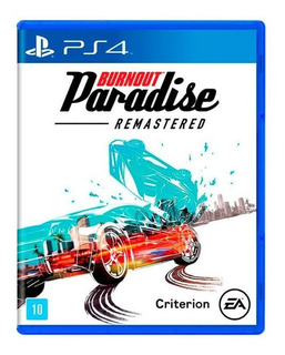 Jogo Burnout Paradise Remastered Ps4 Mídia Física Lacrado