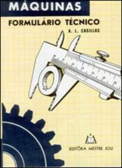 Maquinas Formulario Tecnico