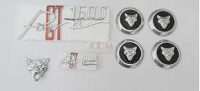 Kit Emblemas Puma Gt 1600 - Carroceria + Rodas