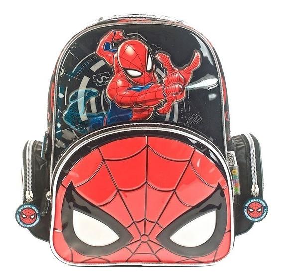 Mochila Spiderman 16p Espalda 62312 Original