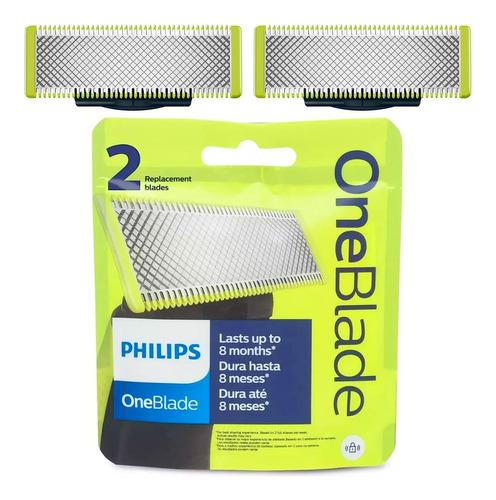 X2 Repuesto Afeitadora Y Recortadora Philips Qp2521 Goex