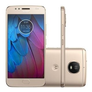 Motorola Moto G G5s Xt1792 32gb Dual 16mp Vitrine Ouro