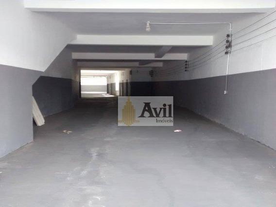 Salão À Venda, 430 M² Por R$ 1.600.000 - Brás - São Paulo/sp - Sl0025