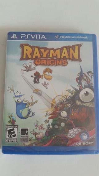 Jogo Ps Vita Rayman Origins - Oirginal Lacrado