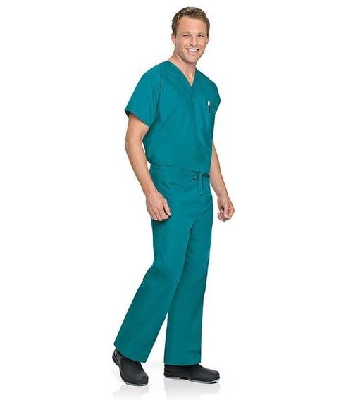 Pantalón Unisex Reversible Marca Landau Color Turquesa