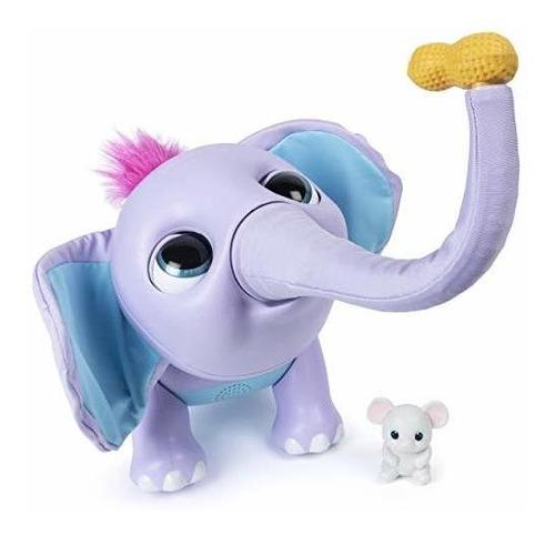 Wildluvs Juno Mi Bebé Elefante Con El Tronco En Movimiento