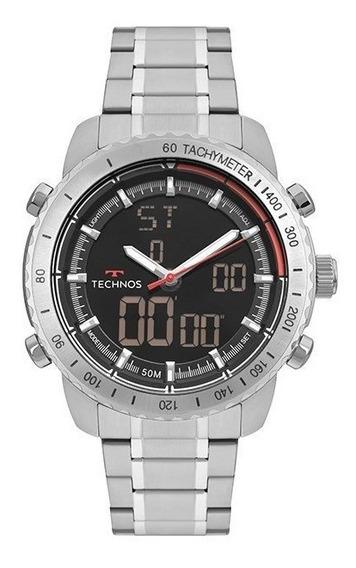 Relógio Technos Masculino Performance Prata W23745aa/1p