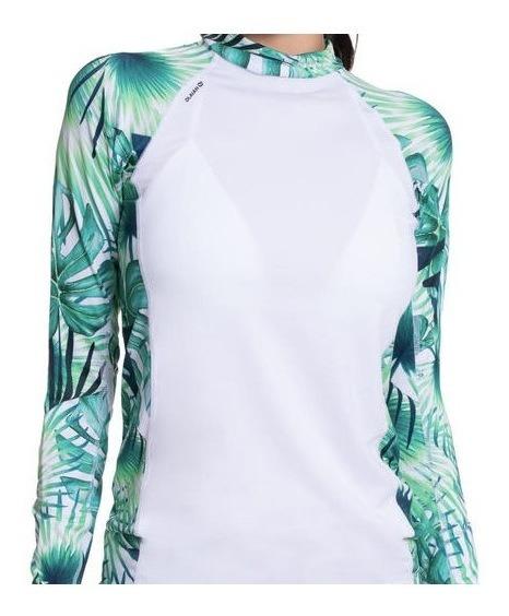 Camisa Blusaproteção Solar Feminina Upf50+ Manga Comprida