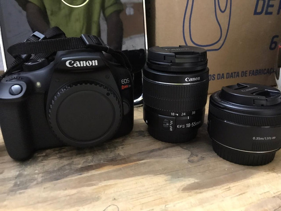 Canon T6 + Kit 50mm + Bolsa + 32gb