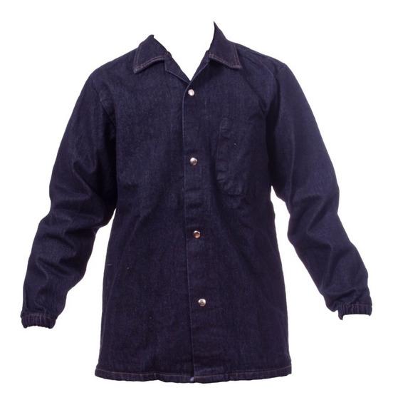 Camisa De Mezclilla 8oz Y 14 Oz Para Trabajo Rudo.