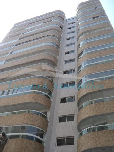 Imagem 1 de 20 de Apartamento Novo Na Vila Tupi Em Praia Grande Sp, (amplo 103m2 Área Útil) - Ap00130 - 2491676