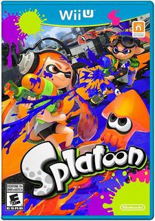 Juegos Digitales Wii U Splatoon + Pack De 135 Titulos