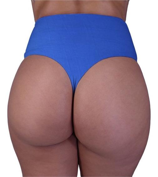 Biquini Fio Dental Cós Alto Hot Pant Bikini Moda Praia