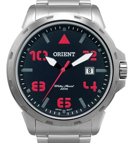 Relógio Orient Prata Preto - Mbss1195a P2sx