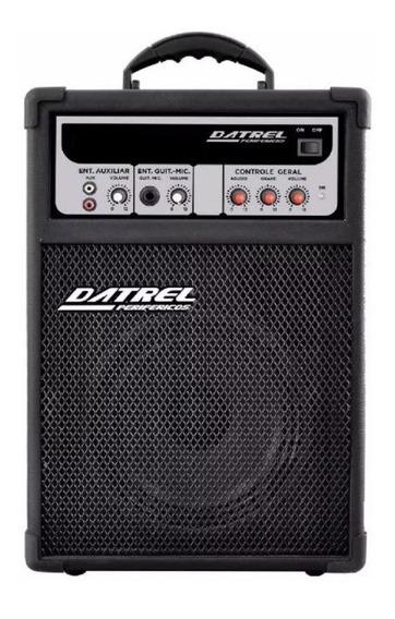 Caixa Caixa De Som Amplificada Microfone/guitarra 50 Watts