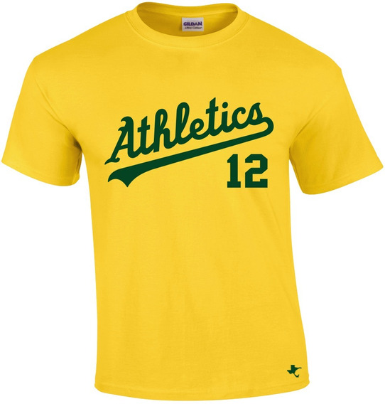 Playera Mlb Atléticos Oakland Mod. 1 By Tigre Texano Designs
