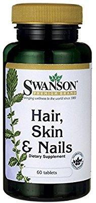 Nails Skin Hair Swanson Cabello Uñas Y Piel / 60 Caps