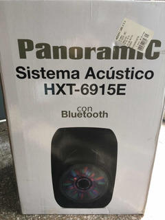 Parlante Bluetooth Panorámic Hxt-6915e 4500w Usb/ Fm / Sd
