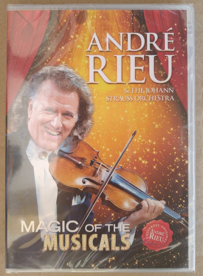Dvd André Rieu Magic Of The Musicals